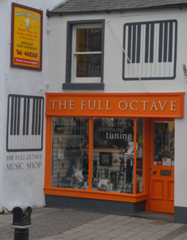 full octave shop front